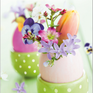 Easter Floral Eggs