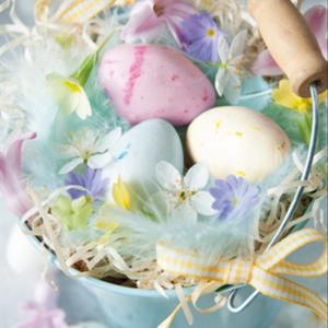 Easter Eggs in Bucket