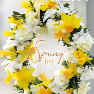 Easter Floral Wreath