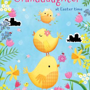 Granddaughter - Easter Chicks