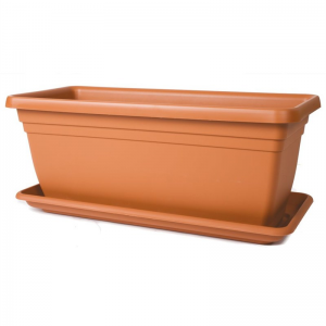 Deep Trough 80cm Terracotta