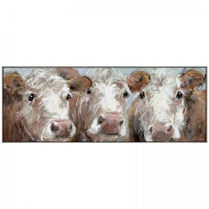 Three Amigos Cows Large Print