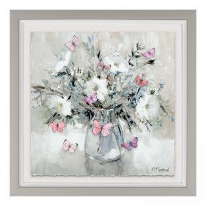 Harmony Butterfly Vase Print