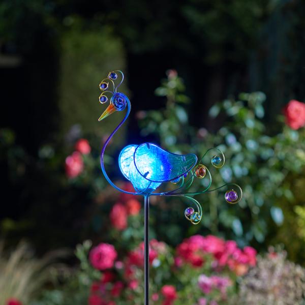 Peacock LED Stake Light