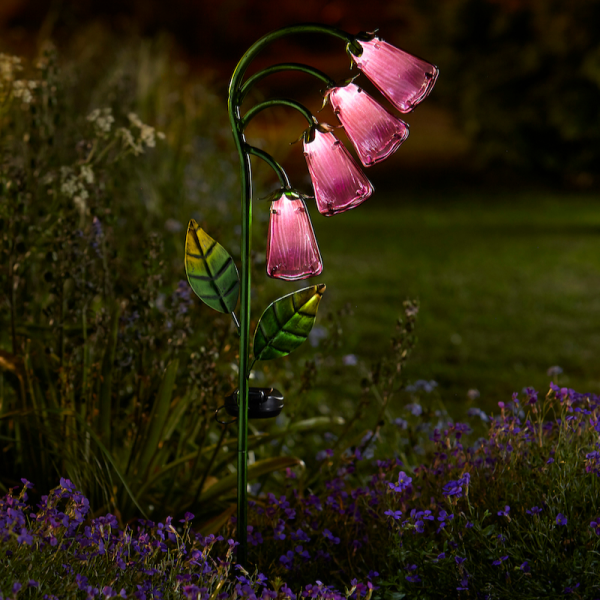 Foxglove Solar Flower Stake