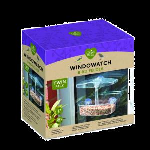 WindoWatch Bird Feeder TWIN PACK