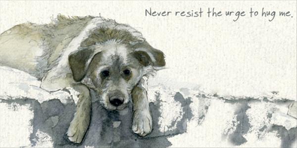 Resist the Urge' Card