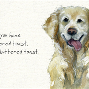 Retriever Toast Card