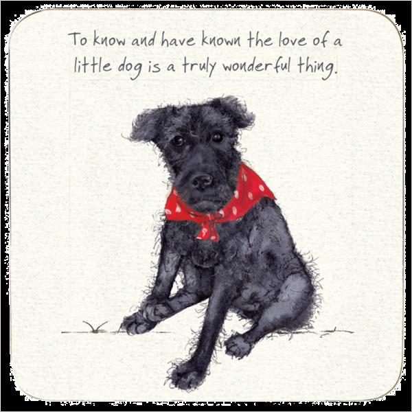 Coaster - Little Dog