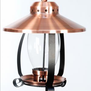 Copper-Finish Lantern Feeder