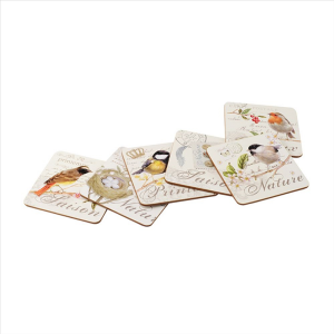 Songbird Coasters Set Of 6