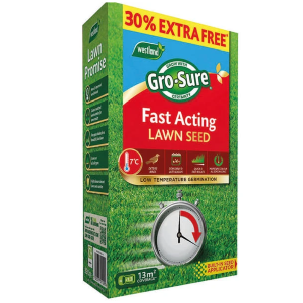 Gro-Sure Fast Act Lawn Seed +  30%