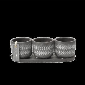 Aztec Pots - Set of 3