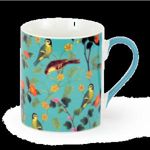 Flora & Fauna Fine China Mug
