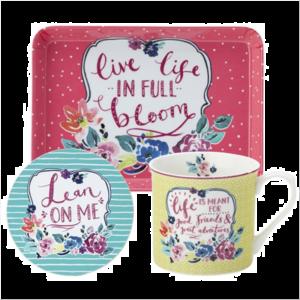 Ashley-Full Bloom Mug Set