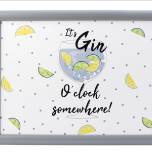Gin o' Clock - Laptray