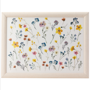 Pressed flowers Lap Tray