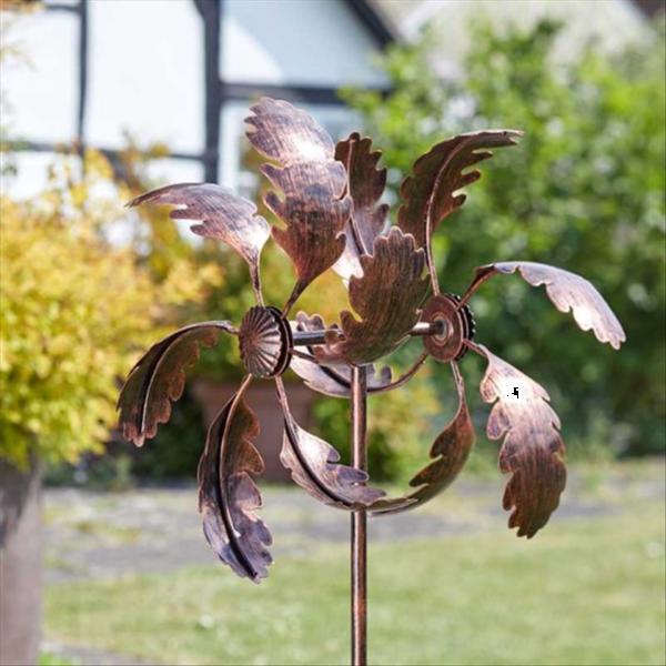 Oak Leaf Wind Spinner