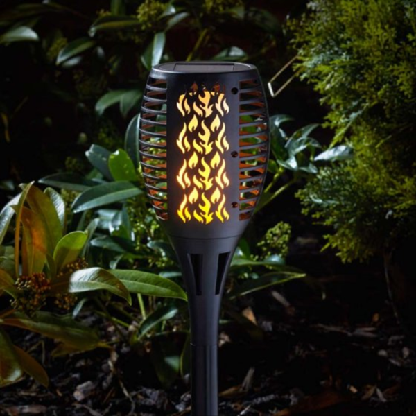 Compact Flaming Torch BLK