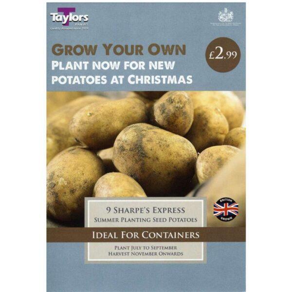 Pre Pack Potato Sharpe's Express