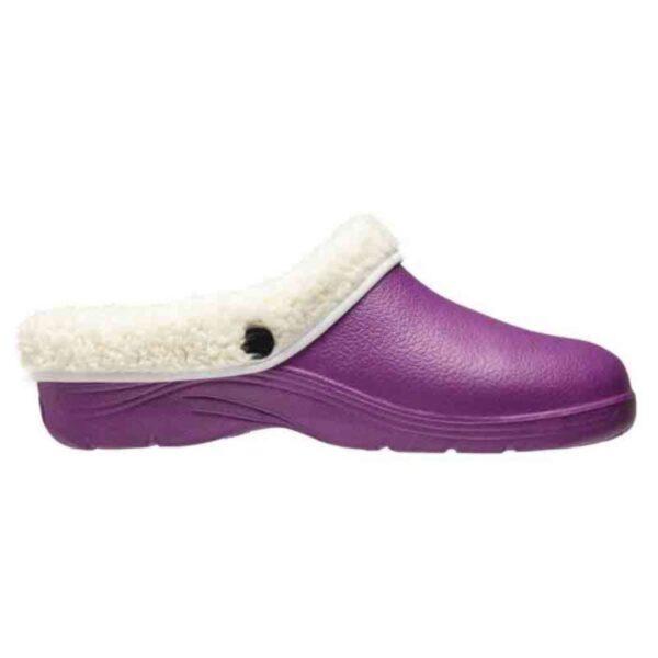 Comfi Fleece Clog – Lilac 8