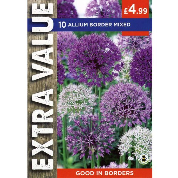 Allium Border Mix 10 Bulbs