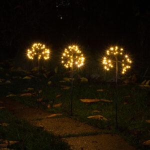 Firework Lights Set 3 Warm White