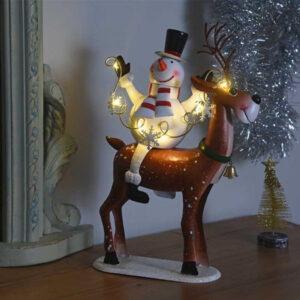 Light Up Frosty's Cupid!
