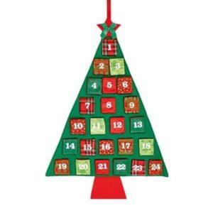 Christmas Tree Advent 100x60cm
