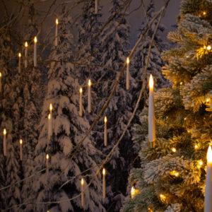 Magic Candles Warm White